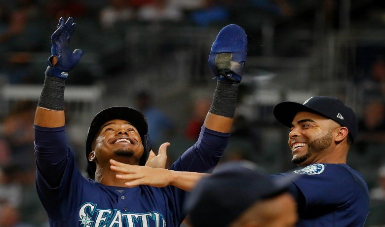 Mariners sit 1.0 GB in the AL Wild Card standings. Photo: Twitter/ @Mariners