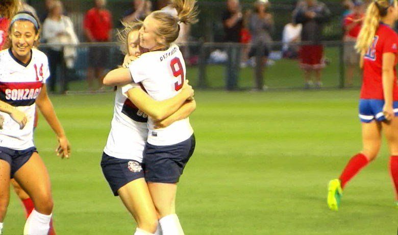 Maddie Kincaid scores in 39th minute for Gonzaga