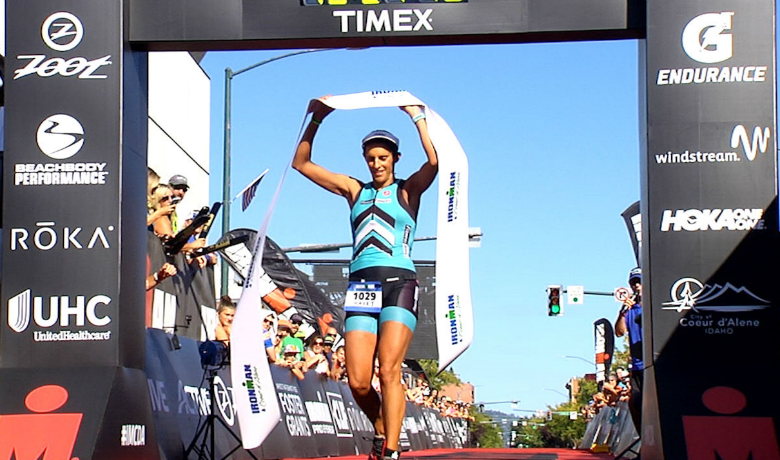 Spokane's Haley Cooper-Scott wins her first IRONMAN