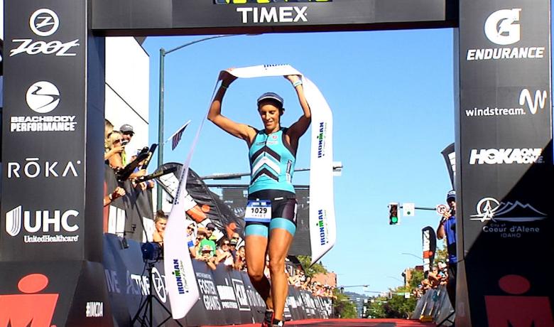 Spokane's Haley Cooper-Scott wins her first IRONMAN