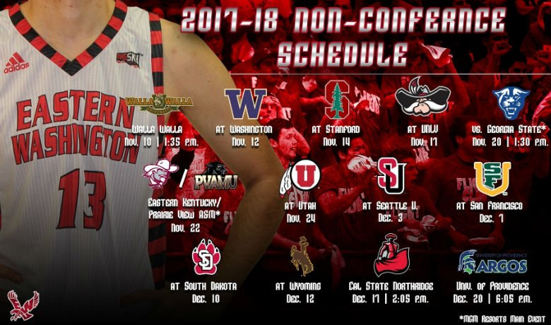 Eagles to play trio of Pac-12 opponents Photo: EWU Athletics