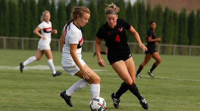 Eagles outshot Gonzaga 19-7. Photo: EWU Athletics