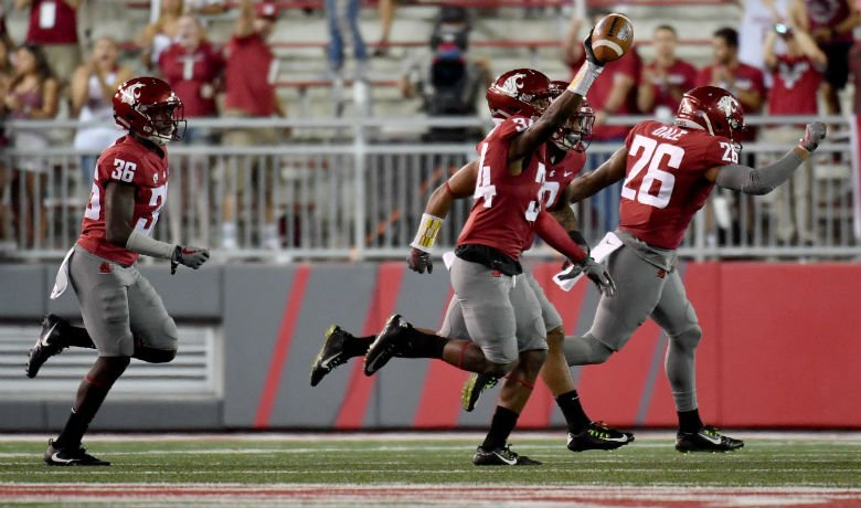 Cougars beat Boise State last week after being down 31-10. Photo: WSU Athletics