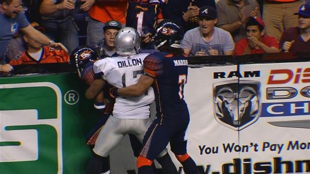 The Spokane Shock gave up 60 points against Chicago but outplayed the Rush's defense for the win on Saturday (Photo: SWX)