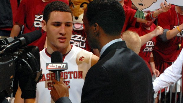 Klay Thompson could go as high as No. 10 to the Milwaukee Bucks (Photo: WSU Athletics)