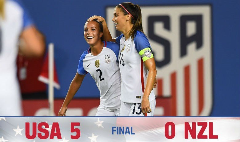 Photo: Twitter/ @ussoccer_wnt