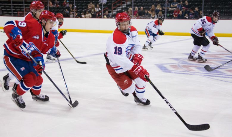 Larson was 9th round pick in 2016 WHL Bantam Draft. Photo: Spokane Chiefs