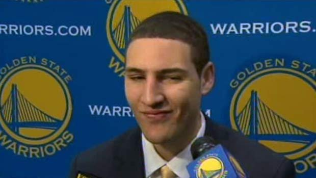 Klay Thompson said he's excited to play alongside Stephen Curry and Monta Ellis.