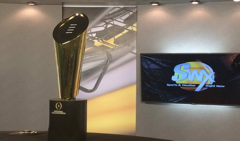 The College Football National Championship Trophy will make its way to Pullman for the first time ever.