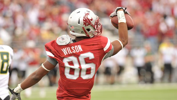 WSU's Marquess Wilson made several Freshman All-American lists last year and is poised to have another successful year in Pullman this upcoming season (Photo: WSU Athletics)