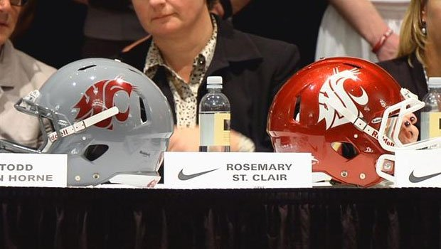Joe Penkala opined on BleacherReport.com that Washington State's logo somewhere in the middle of the pack (Photo: FILE / SWX)