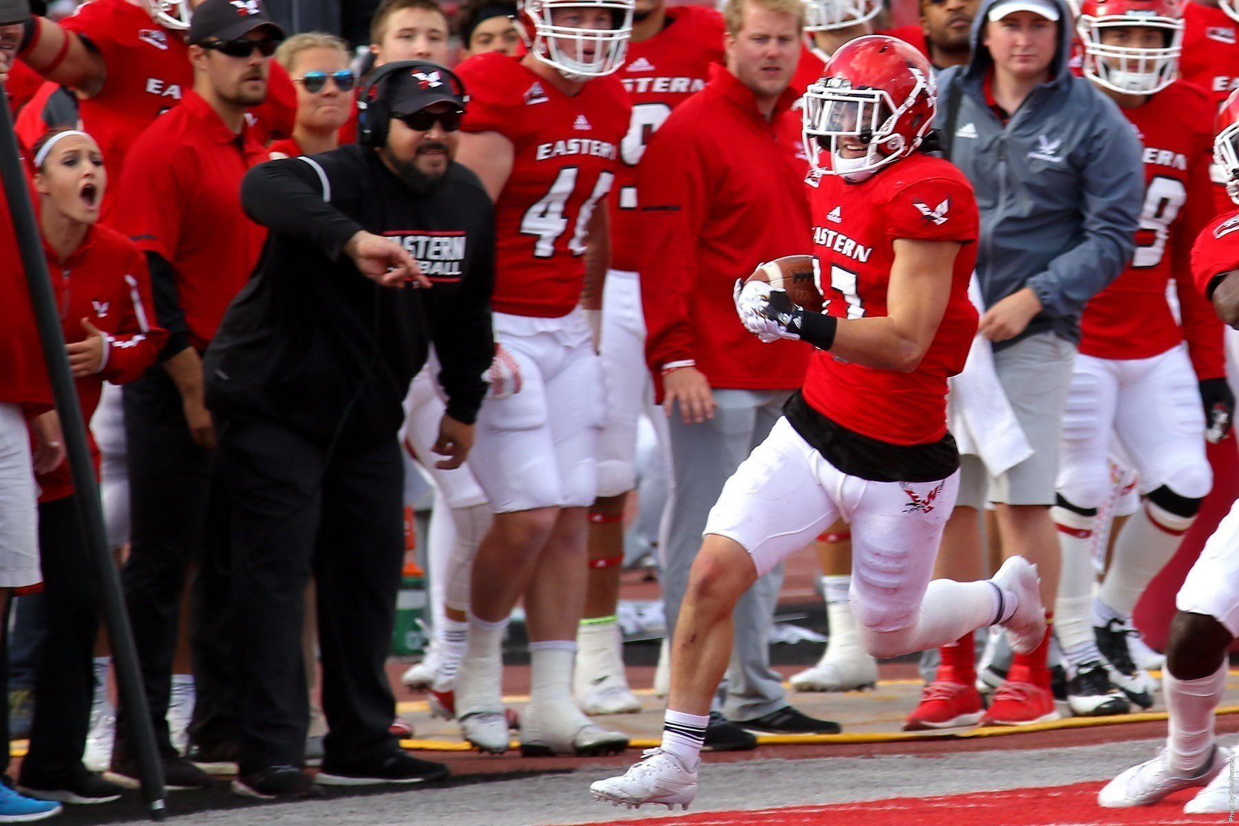 Eagles started the year 0-2 and now look for their 4th straight win. Photo: EWU Athletics