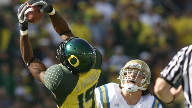 Brian Paysinger played for Oregon in college and played earlier this season for the Tulsa Talons (Photo: ERIC EVANS, University of Oregon Athletics)