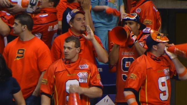 Shock fans will have to travel if they want to see their team in the playoffs. The Shock play at Arizona a week from Friday (Photo: FILE / SWX)