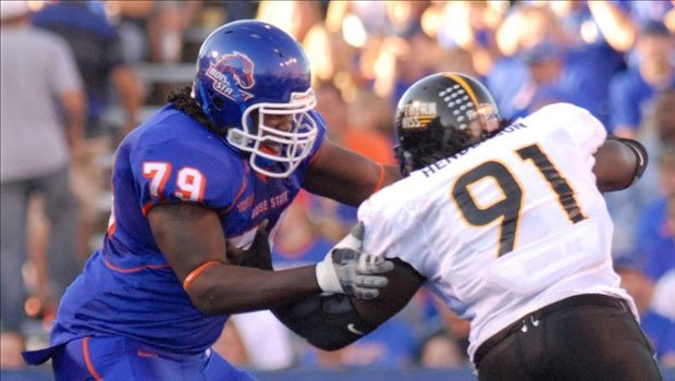 Boise State will not be allowed to play conference games at home while wearing blue shirts and pants (Photo: FILE)