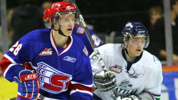Kenton Miller appeared in 173 games for Spokane and had his best year with the team in 2009 (Photo: Spokane Chiefs)