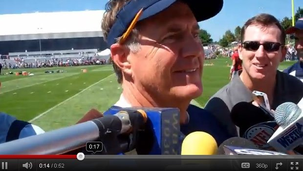 Bill Belichick told reporters he doesn't use social media... ever.