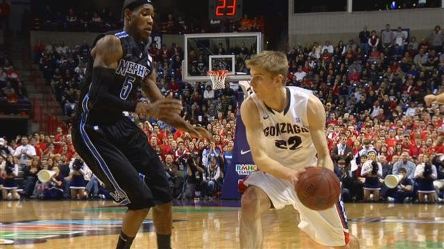 Gonzaga hosted Memphis last year at Spokane Arena and lost 62-58 (Photo: SWX)