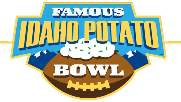The new logo features a potato as a football