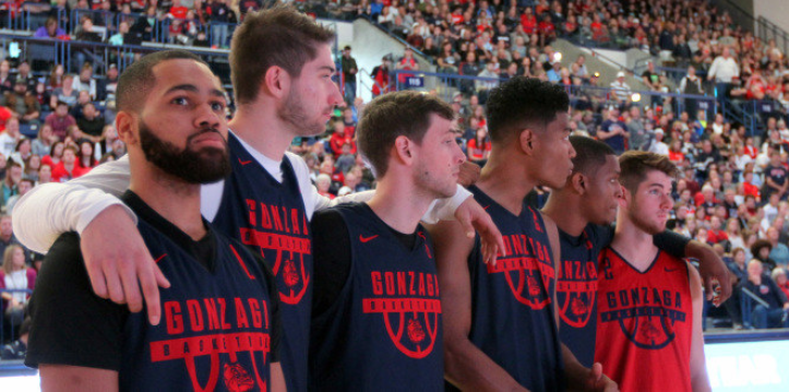 Gonzaga opens season in coaches' poll for eighth straight season. Photo: Gonzaga Athletics