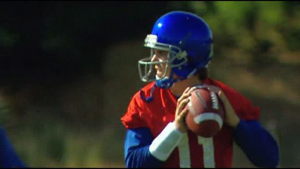 Boise State's Kellen Moore will not have Titus Young and Austin Pettis to throw to this year.