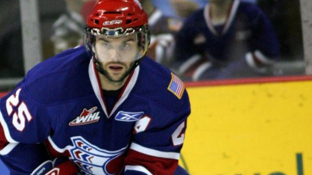 Levko Koper finished last seasno with a career high 32 goals and 82 points (Photo: Spokane Chiefs)
