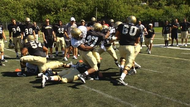 © Vandals Hold First Scrimmage- Courtesy SWX