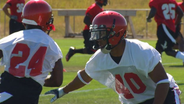 Eastern Washington began fall camp on Wednesday with a helmets-only practice (Photo: SWX)