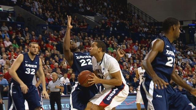 EPSN will air Gonzaga's scheduled game against Xavier on Dec. 31. The Bulldogs won last year's contest 64-56. (Photo: SWX)