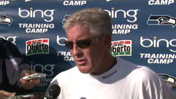 Head coach Pete Carroll believes his team is much deeper than it was a year ago.