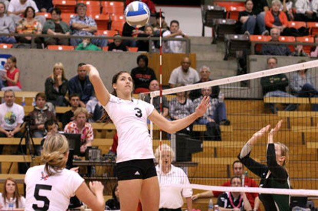 Eastern Washington lost to Seattle in three sets Friday (Photo: EWU Athletics)