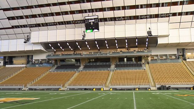 The University of Idaho spent $27 million dollars to renovate the Kibbie Dome (Photo: SWX)