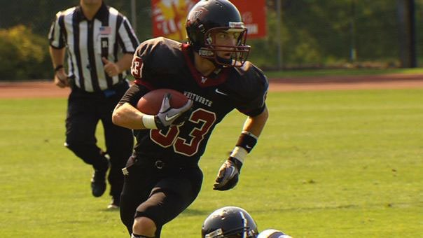 © Whitworth will likely lean on its running game against No. 4 Redlands on Saturday (Photo: SWX)