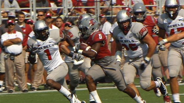 Washington State is an underdog going into this weekend's game against San Diego State, even though they lead the nation in scoring (Photo: SWX)