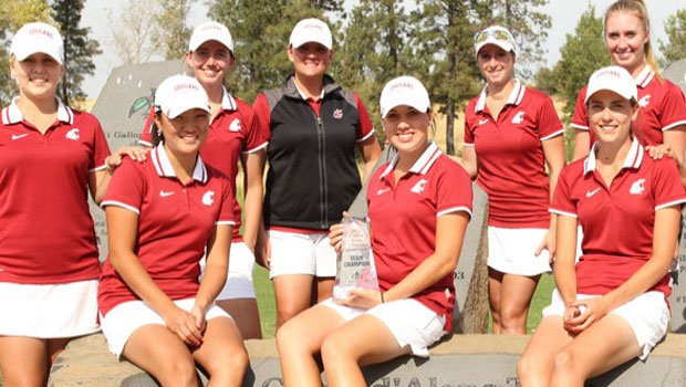 Washington State won the Circling Raven Collegiate Invitational this week, shooting +20 as a team. (Photo: WSU Athletics)