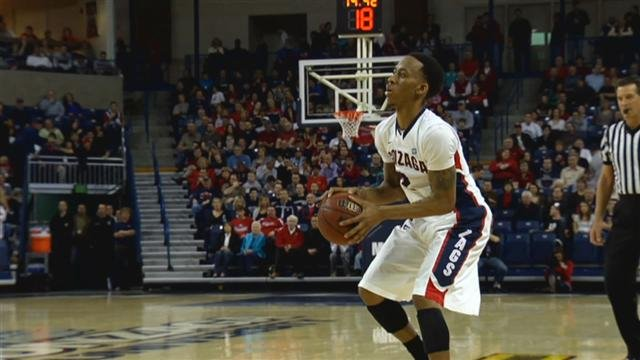 KHQ will broadcast a total of 16 Gonzaga men's basketball games this upcoming season, including the preseason contest against Carroll College on October 28 (Photo: SWX)