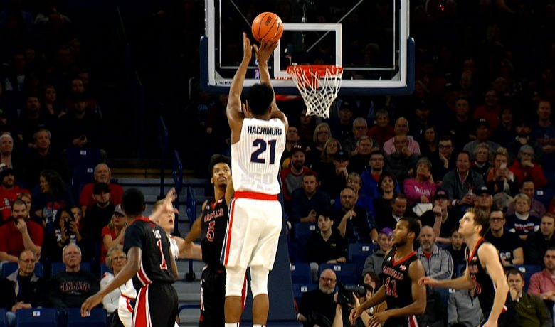 Gonzaga wins by 35 points over Incarnate Word