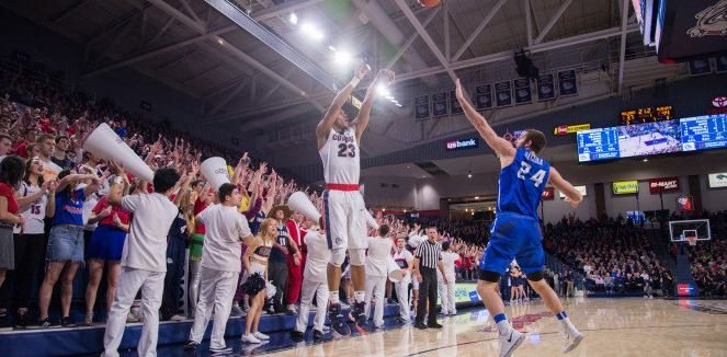 Photo: Gonzaga Athletics