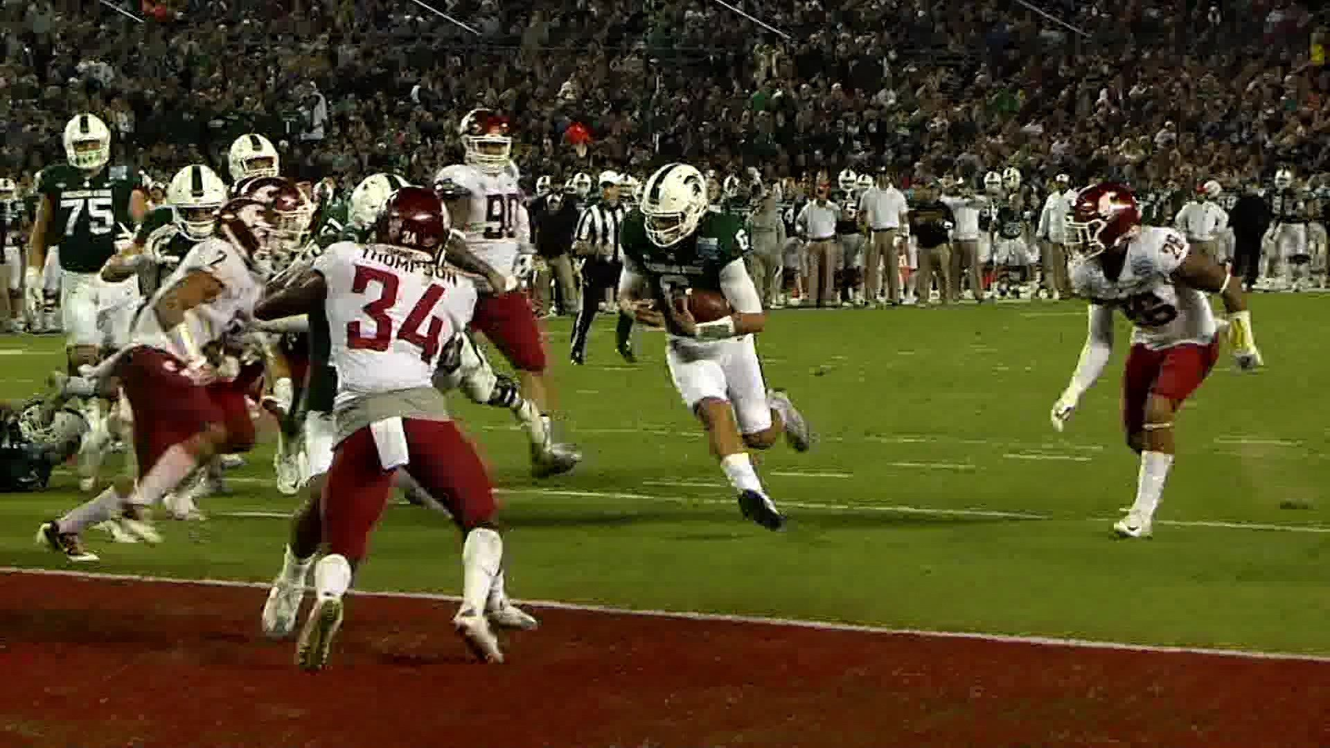Cougs drop their 2nd straight Holiday Bowl