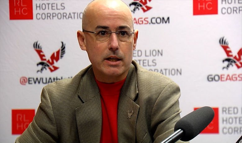 Bill Chaves was hired at EWU in August of 2007.