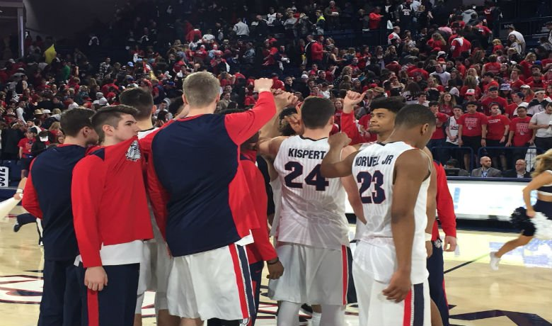 Zags suffer first WCC loss of season