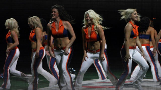 The Shock will hold tryouts for their 2012 dance team on Jan. 7 (Photo: Spokane Shock)