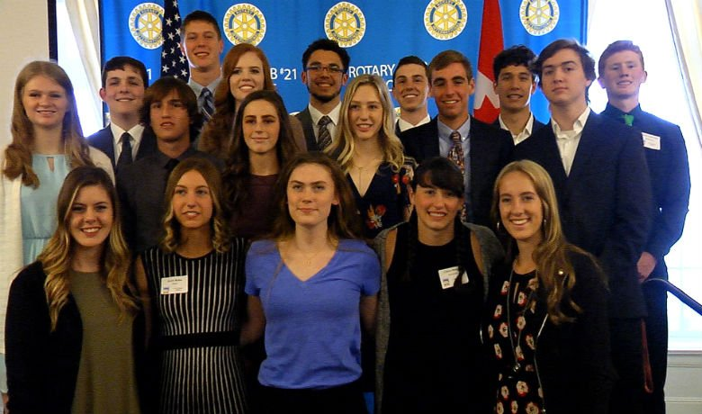 A total of 21 student-athletes were honored Thursday