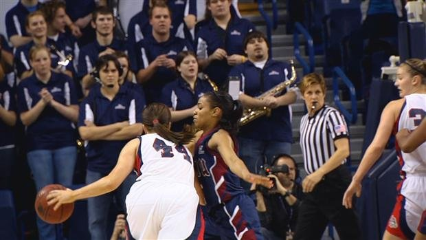 Gonzaga beat LMU 79-61 to improve to 7-1 in conference play this season (Photo: SWX)