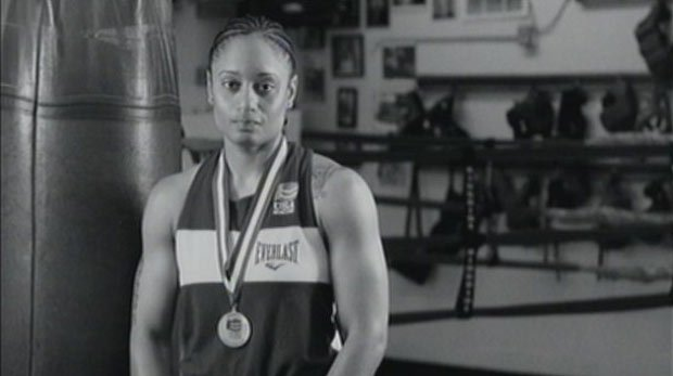 Queen Underwood, from Seattle, is one of the women competing to box for the gold in London this summer (Photo: SWX)