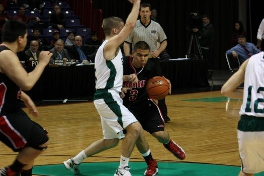 © The State B tournaments got underway Thursday at Spokane Arena (Photo: SWX)