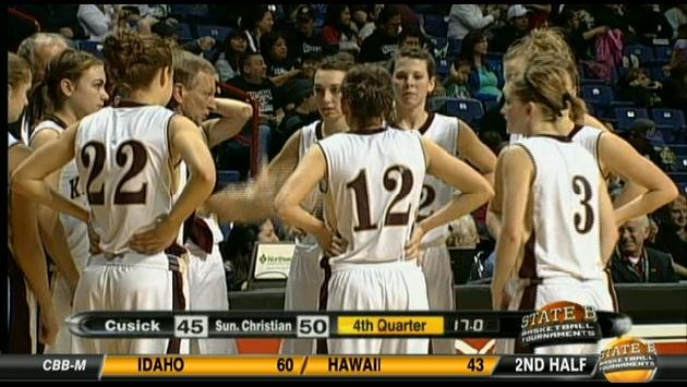 Sunnyside Christian proved themselves with a win over Cusick Thursday night in the State B quarterfinals (Photo: SWX)