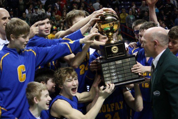  Colfax beat Northwest Christian for the 2B state title on Saturday at Spokane Arena (Photo: SWX)