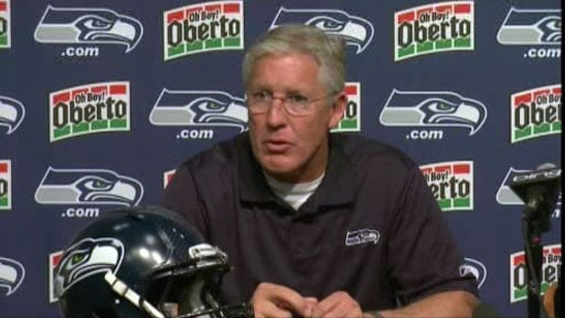 Seattle coach Pete Carroll said he and his team have been through all the different draft scenarios and is confident they will pick the right player for the Seahawks.