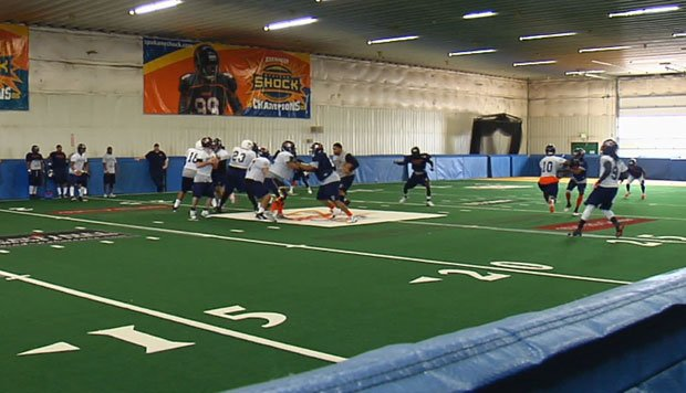 © The Shock are back at practice to prepare for Jacksonville after a week off (Photo: SWX)